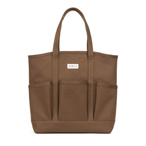 와일드브릭스ROUND GARDEN BAG (brown)