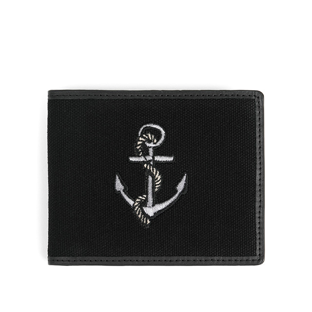 와일드브릭스ANCHOR WALLET (black)